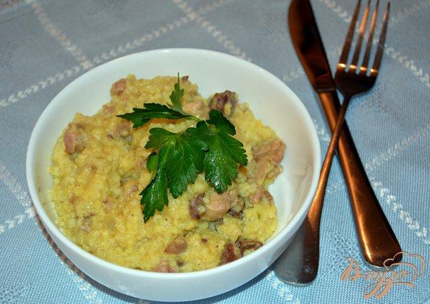 Рецепт Каша пшеная с куриным ливером