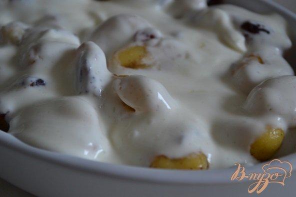 Фото приготовление рецепта: Ньокки с яблоками и клюквой шаг №4