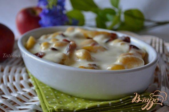 фото рецепта: Ньокки с яблоками и клюквой