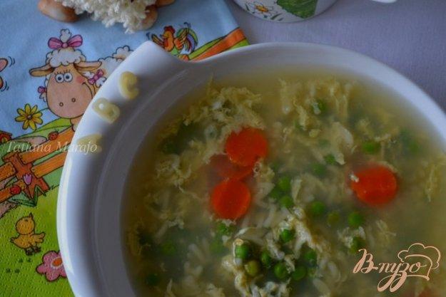 фото рецепта: Яичный суп для детского меню