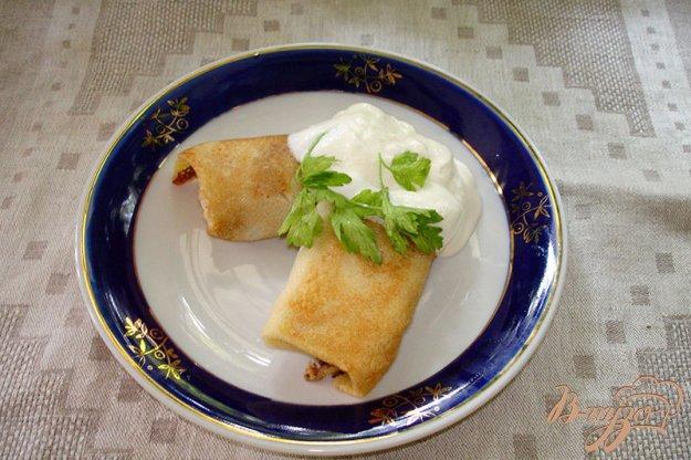 Рецепт Блины с печенью