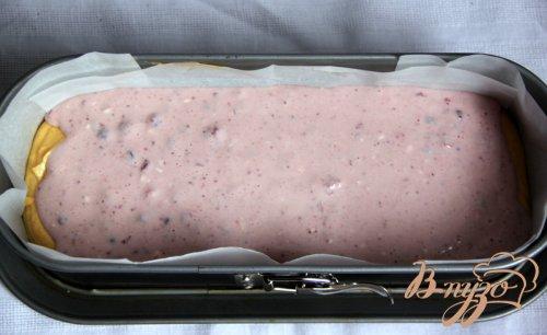 Тыквенный кекс с творожно-брусничной прослойкой