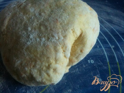 Лепешки из гороха нут с сыром