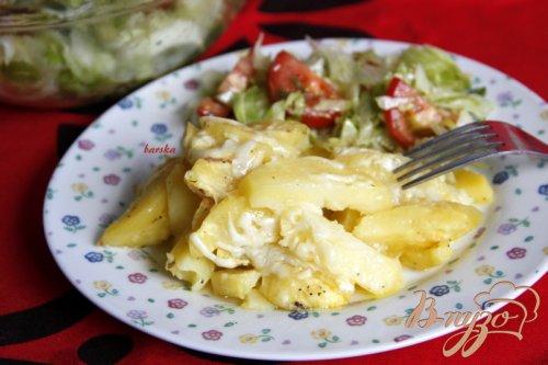 Картошка с сыром в микроволновке