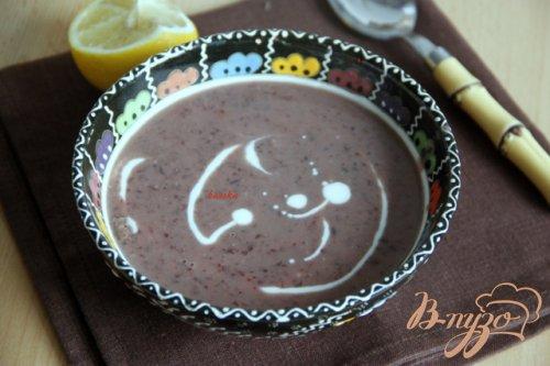 Фасолевый пряный суп-пюре