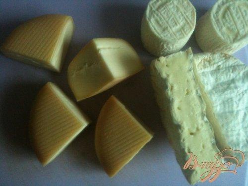 Ассорти из жареного сыра