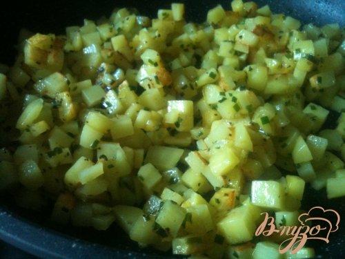 Картофельная лепешка с сыром
