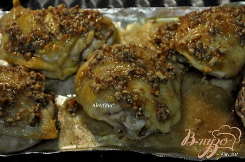 Куриные бедрышки в сладкой глазури