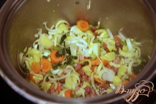 Суп с чечевицей и шпинатом по мотивам  от Джейми Оливера