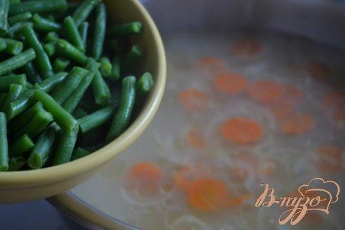 Овощной суп с ньокками