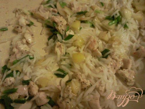 Свекла,фаршированная курицей с рисом и яблоком