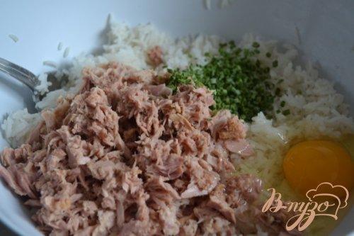 Рисовые биточки с тунцом
