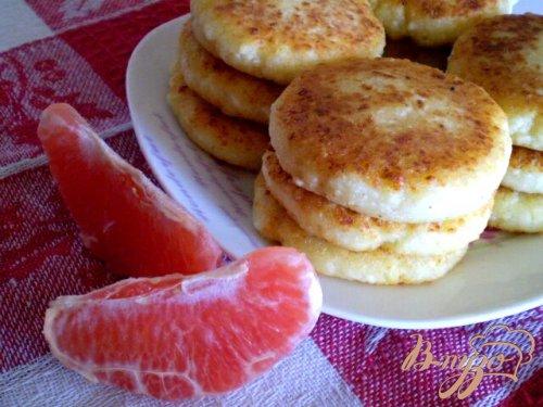 Сырники цитрусовые