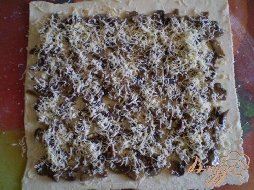Грибные мини-пиццы