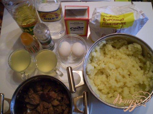 Жаренные пирожки на картофельном отваре
