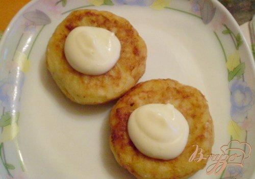 Закуска картофельная с сельдью