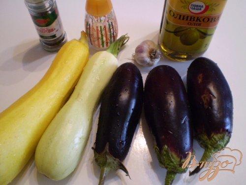 Запеченные овощи с чесноком
