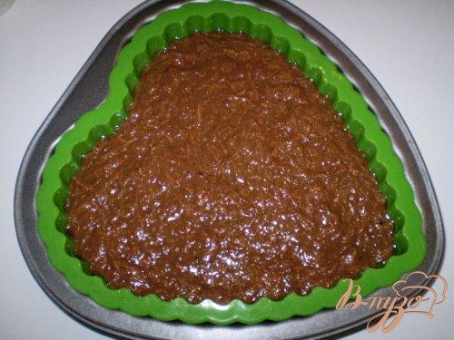 Пирог шоколадно-морковный