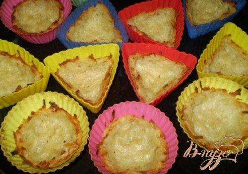 Картофельные корзинки с сырной начинкой