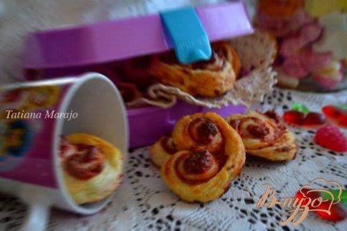 Сердечное печенье для девочек