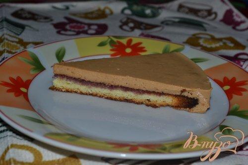 Карамельный тортик