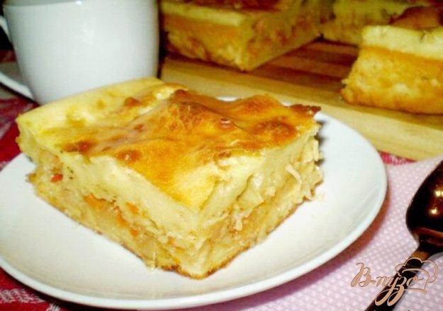 Рецепт Заливной пирог с капустой