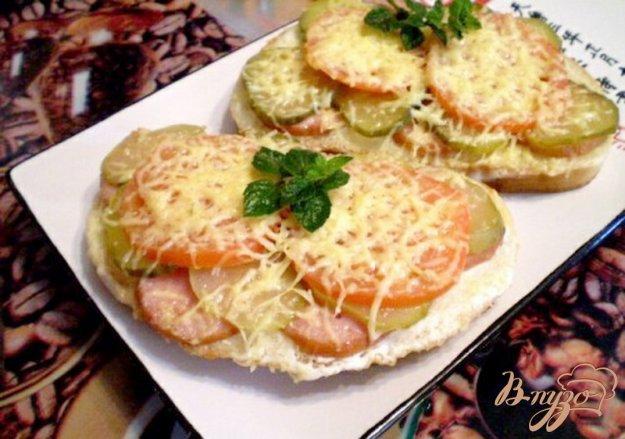 Рецепт Запеченный бутерброд