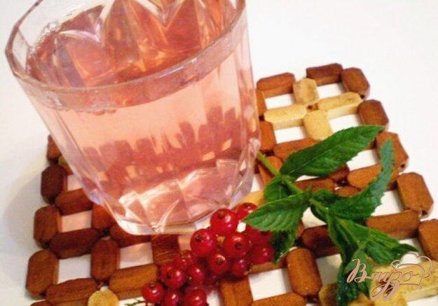 Рецепт Компот из красной смородины и свежей мяты