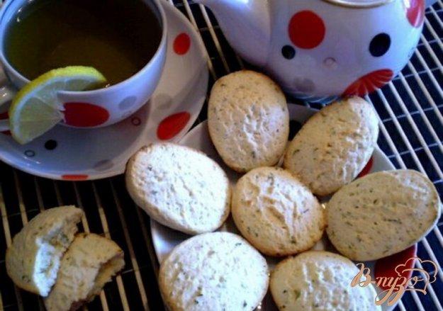 Рецепт Мятно-лимонное печенье