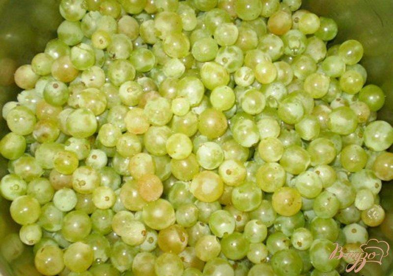 Фото приготовление рецепта: Натуральный виноградный сок из соковарки шаг №2