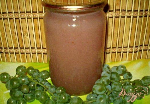 фото рецепта: Натуральный виноградный сок из соковарки