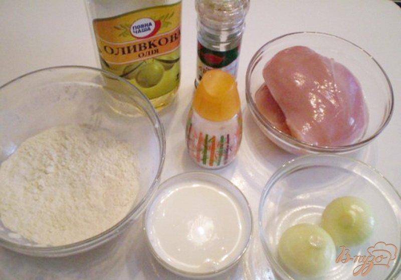 Фото приготовление рецепта: Куриное филе в сливках шаг №1
