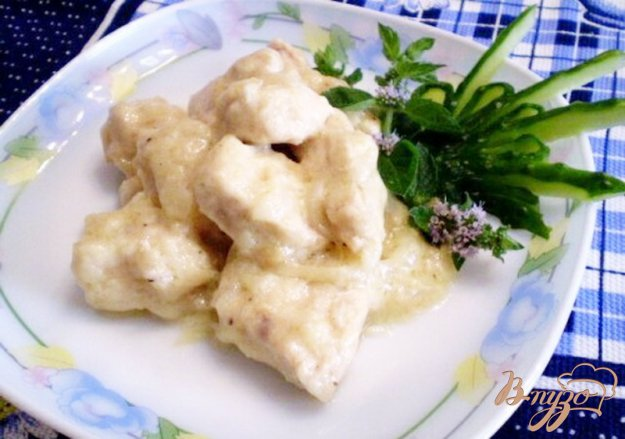 фото рецепта: Куриное филе в сливках