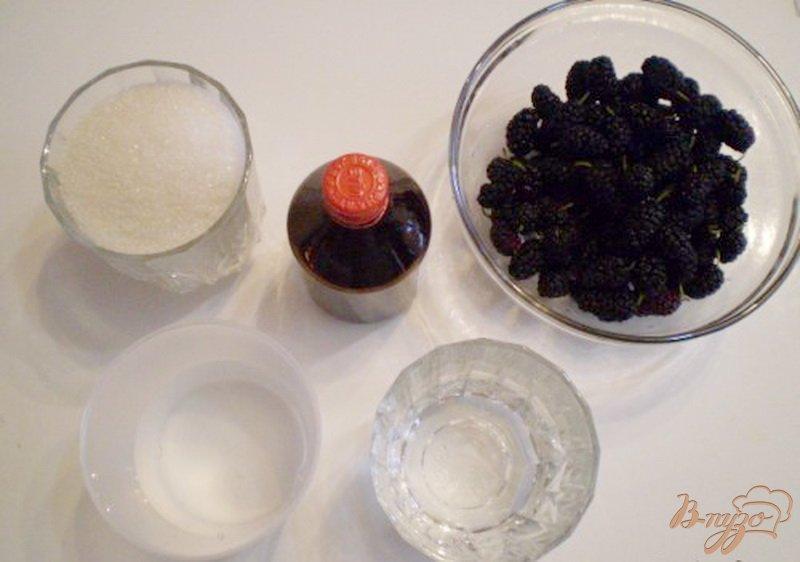 Фото приготовление рецепта: Наливка из шелковицы шаг №1
