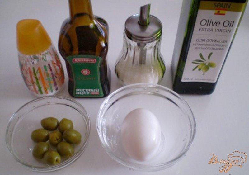 Фото приготовление рецепта: Оливковый майонез шаг №1