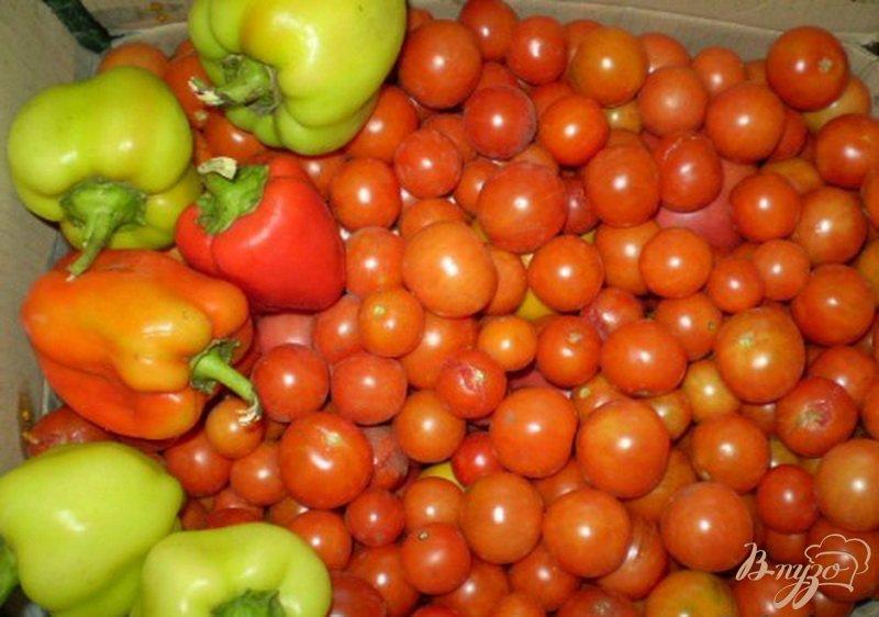 Фото приготовление рецепта: Как заготовить томатный сок на зиму шаг №1