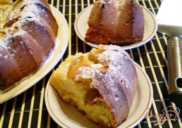 фото рецепта: Медовый кекс с грушами