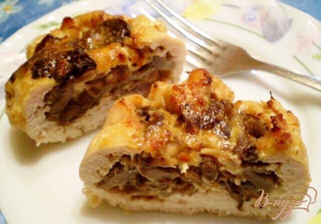 Рецепт Мешочки мясные с грибами