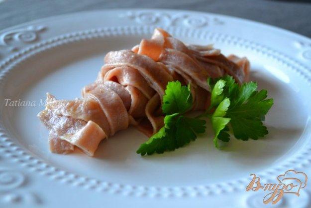 Рецепт Паста с ежевикой