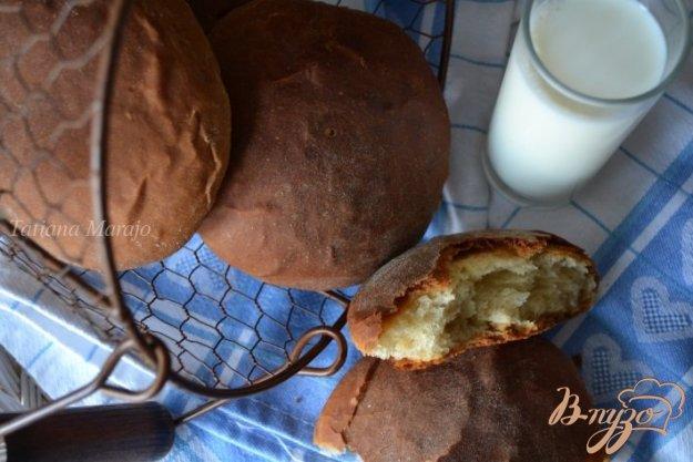 Рецепт Кокосовые булочки с кофейной корочкой