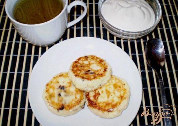 Рецепт Сырники с черносливом