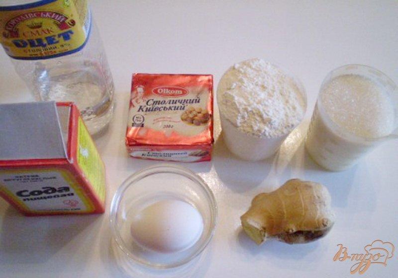 Фото приготовление рецепта: Печенье имбирное шаг №1