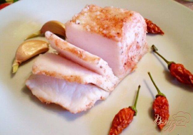 Рецепт Сало соленое со специями