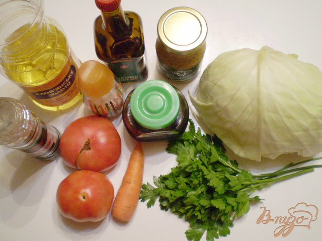 Фото приготовление рецепта: Легкий овощной салат шаг №1