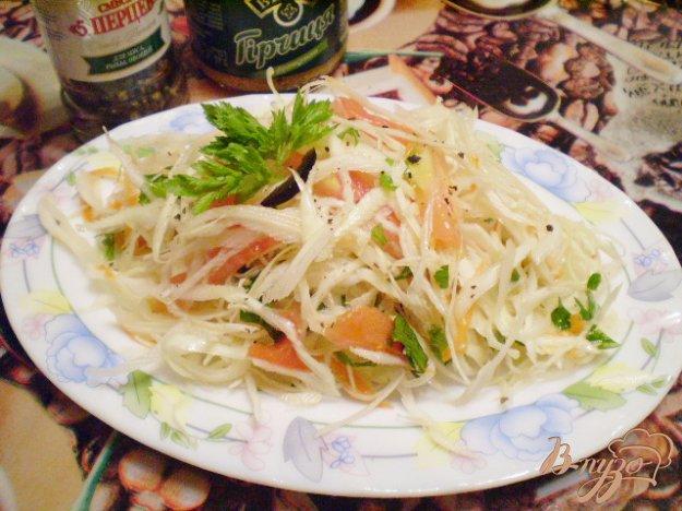 Рецепт Легкий овощной салат