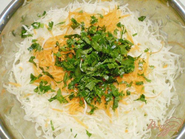 Фото приготовление рецепта: Легкий овощной салат шаг №2