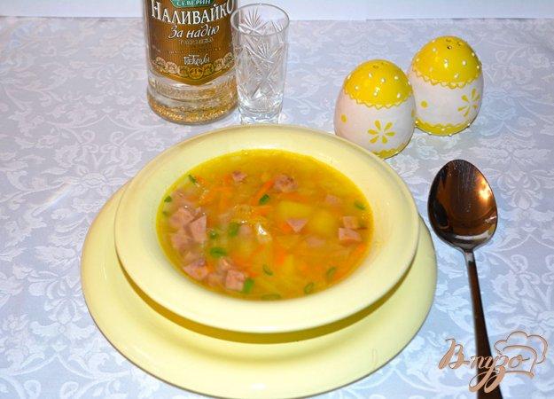 фото рецепта: Капустняк картофельный с ветчиной
