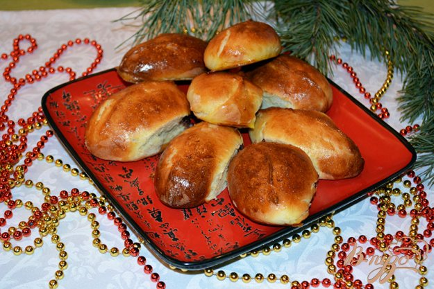 Рецепт Вишневые домашние пирожки