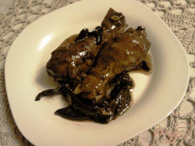 Рецепт Кок*о вен (курица в вине)