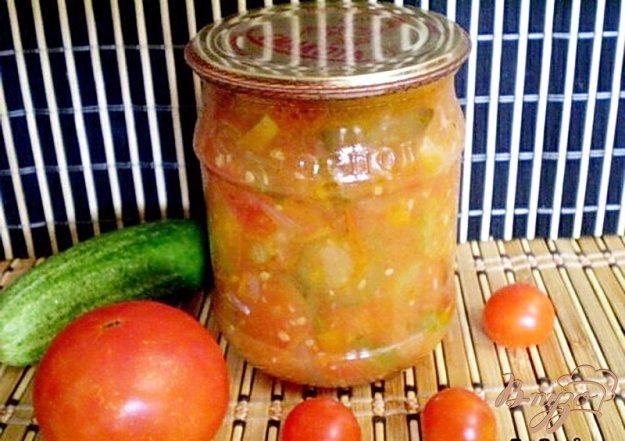 фото рецепта: Овощной салат на зиму